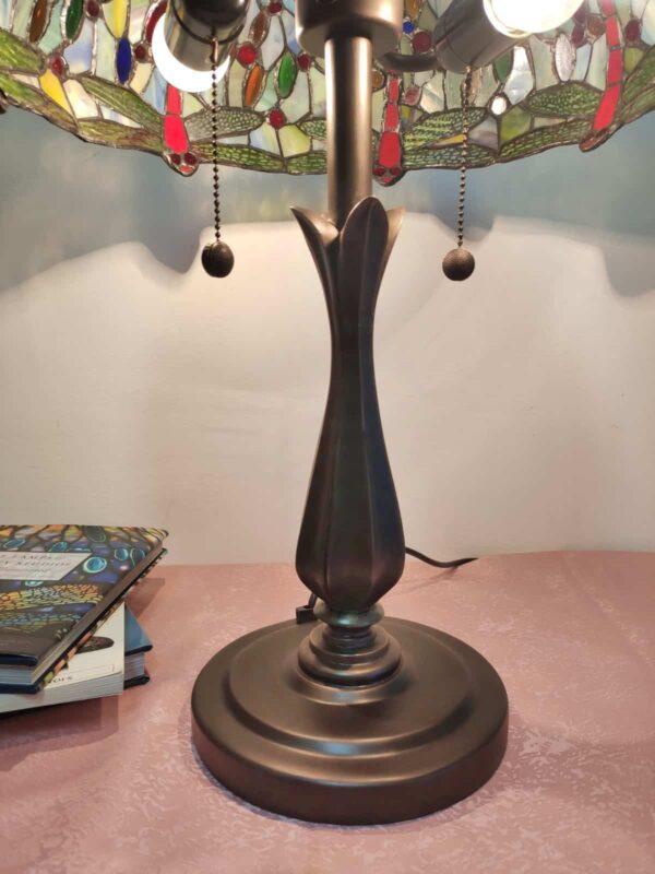 lampada da tavolo tiffany vintage 5