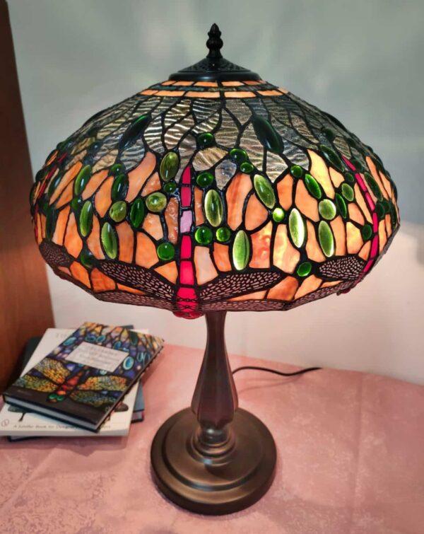 lampada da tavolo tiffany vintage 3