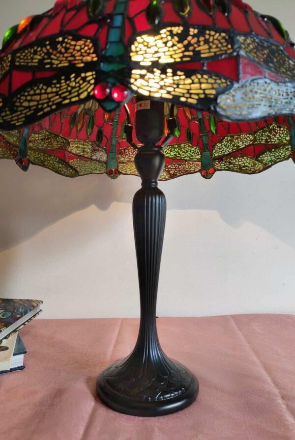 Lampada da Tavolo Tiffany con Lume a Libellule 2
