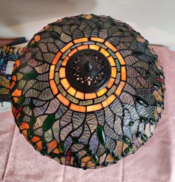 lampada da tavolo con libellule tiffany 1