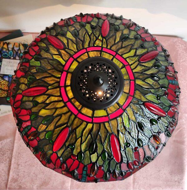 Lampada da Tavolo Tiffany con Lume a Libellule 4