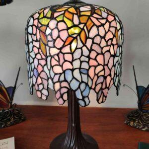 lampada da tavolo tiffany glicine 1
