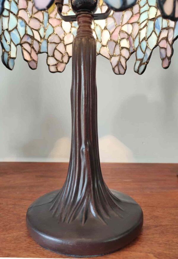 lampada da tavolo tiffany glicine 6