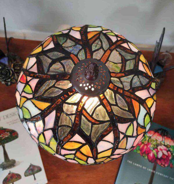 lampada da tavolo tiffany glicine 2