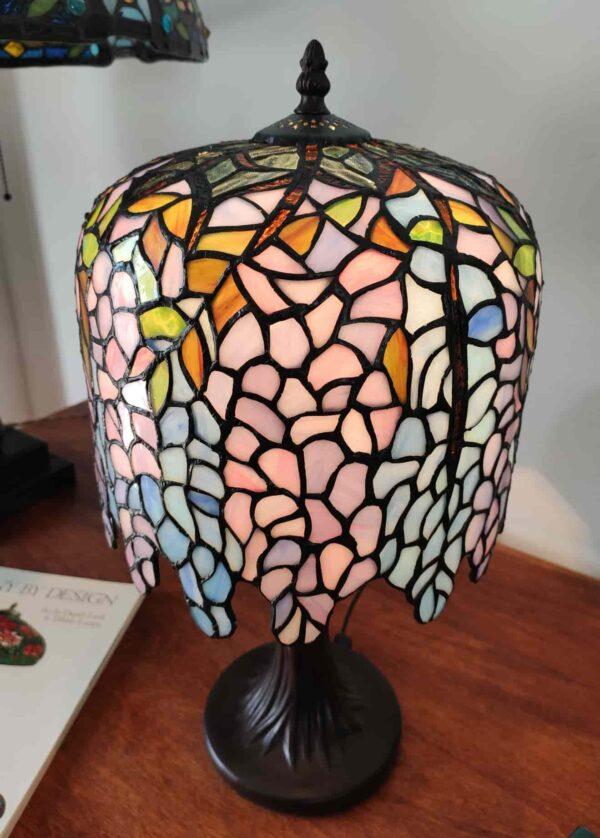 lampada da tavolo tiffany glicine 5