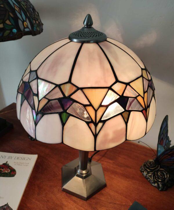 lampada da tavolo tiffany moderna 9