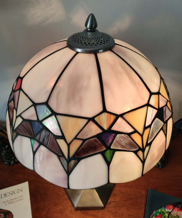 lampada da tavolo tiffany moderna 7