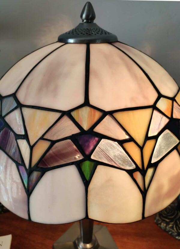 lampada da tavolo tiffany moderna 10