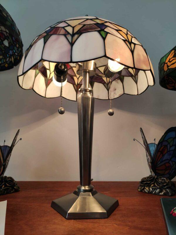 lampada da tavolo tiffany moderna 2