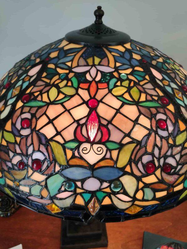 lampada da tavolo tiffany a mosaico 8