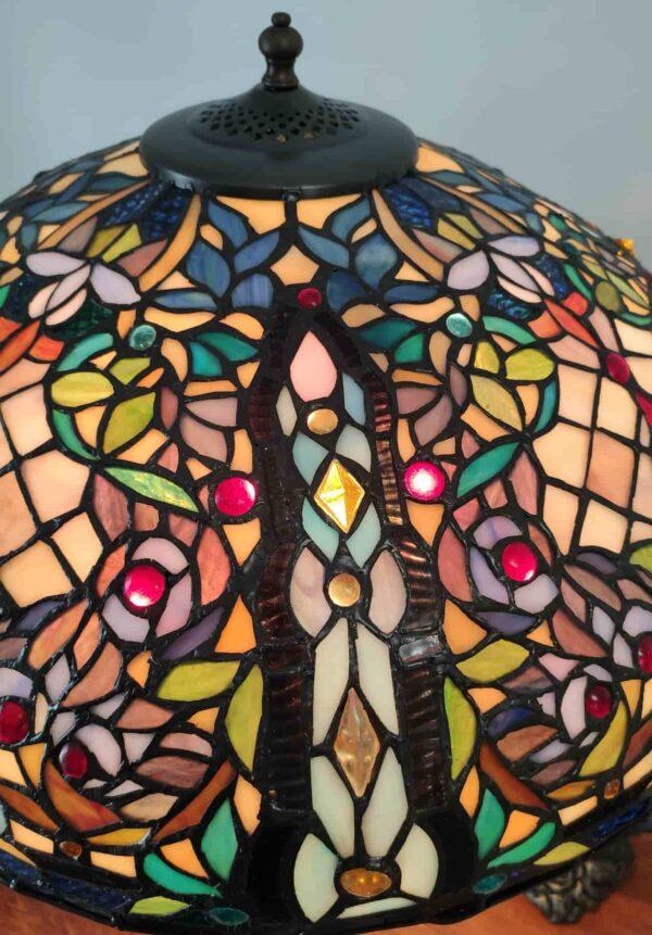 lampada da tavolo tiffany a mosaico 10
