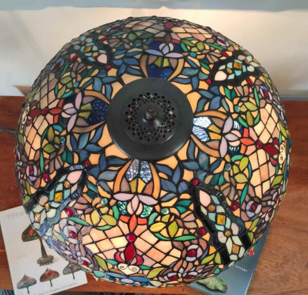lampada da tavolo tiffany a mosaico 11