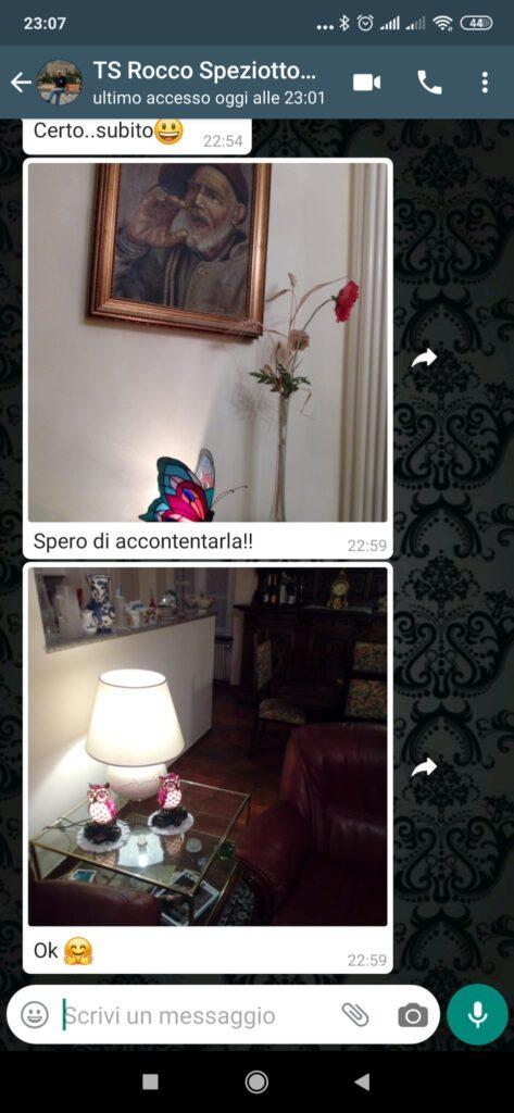 testimonianze feedback lampade tiffany