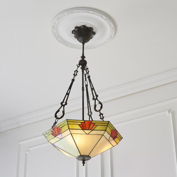 lampadario esagonale invertito 2