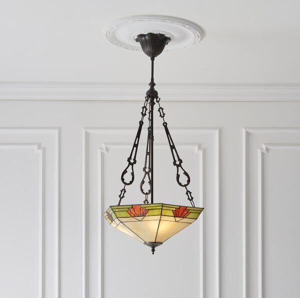 lampadario esagonale invertito 3
