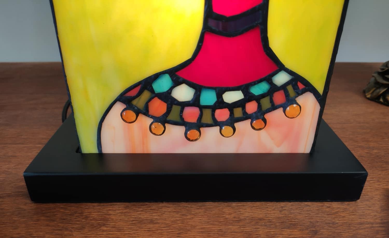 Lampada da Tavolo Tiffany Etnica Base