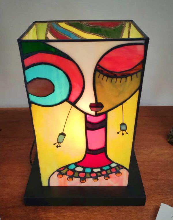 Lampada da Tavolo Tiffany Etnica