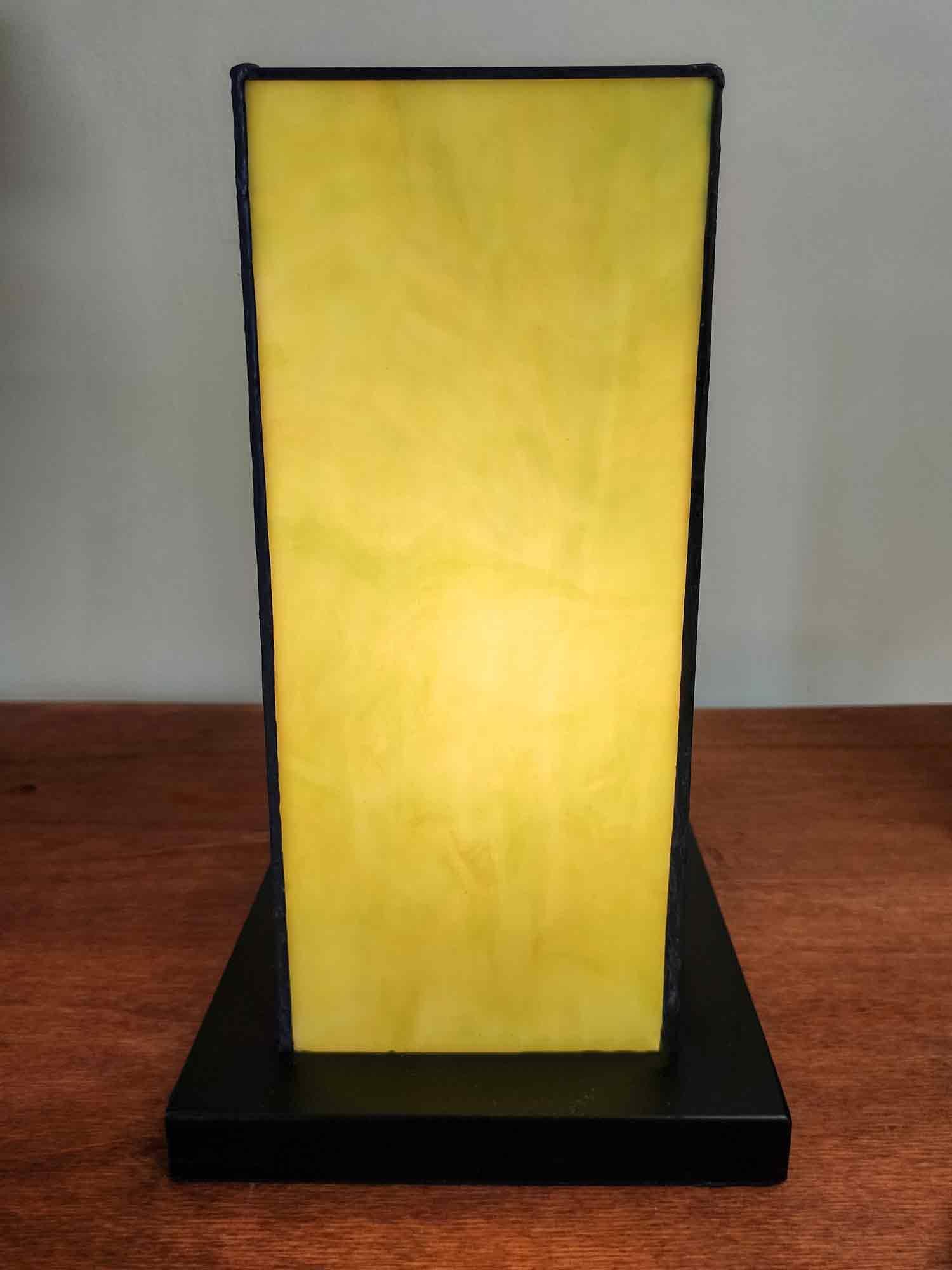 Lampada da Tavolo Tiffany Etnica opalescenza